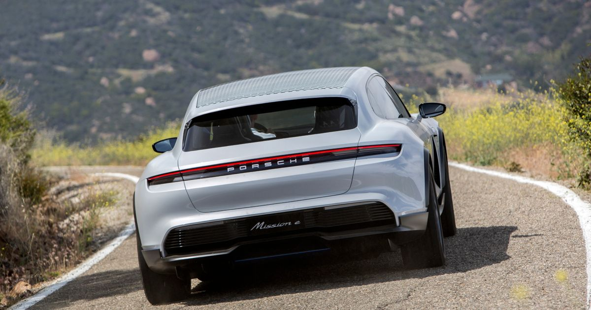 It s Official: The Porsche Mission E-Cross Is Going Into Production