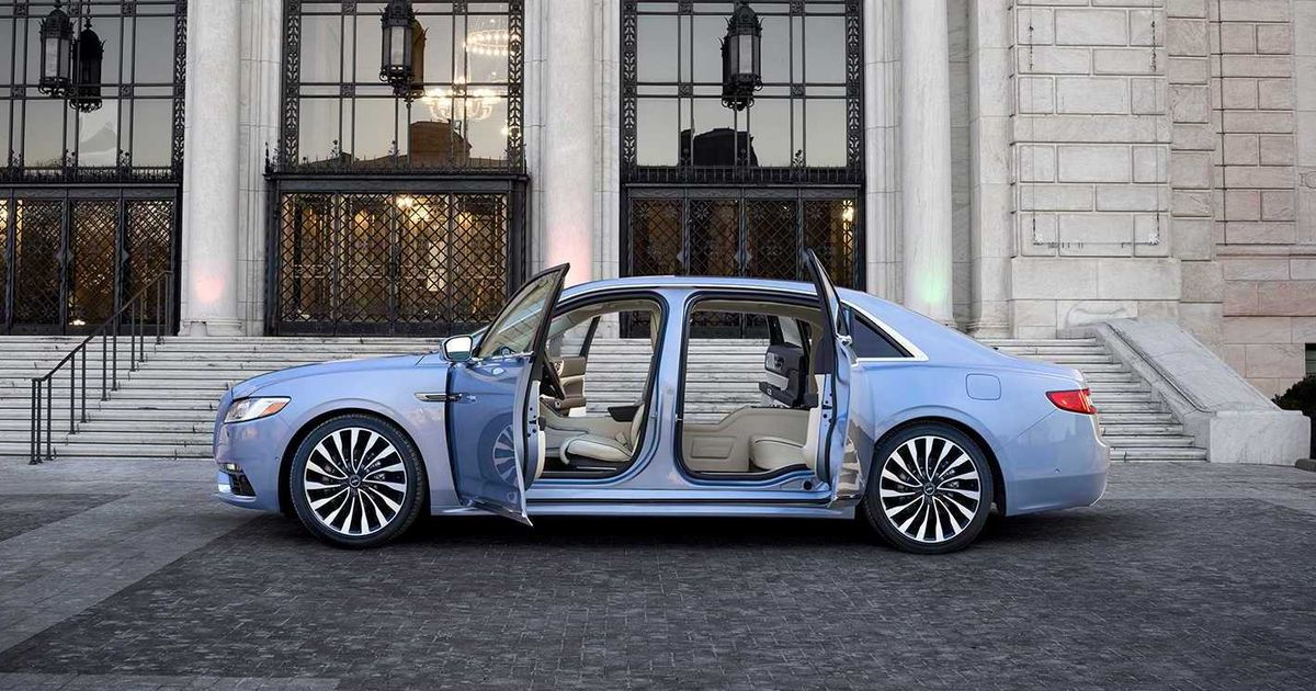 There s Now A 2019 Lincoln Continental With Suicide Doors