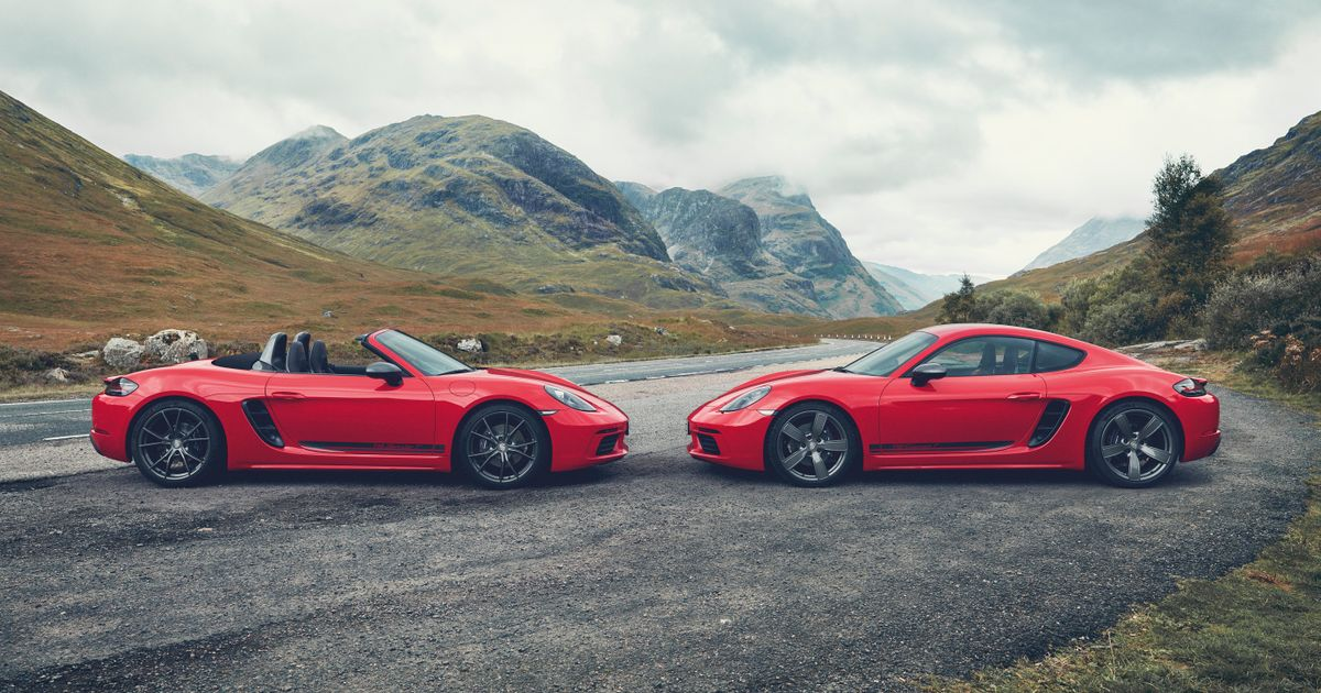 The Porsche 718 Cayman T And 718 Boxster T Have Arrived