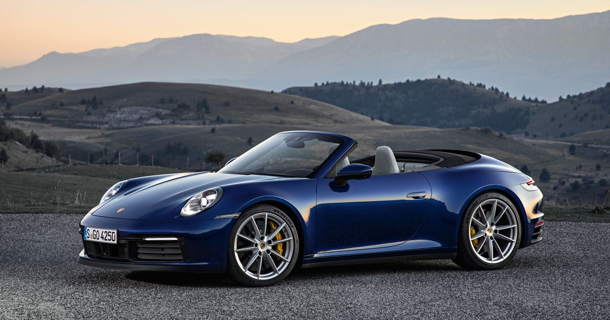 The Inevitable 992 Porsche 911 Cabriolet Is Here, And It s Fast