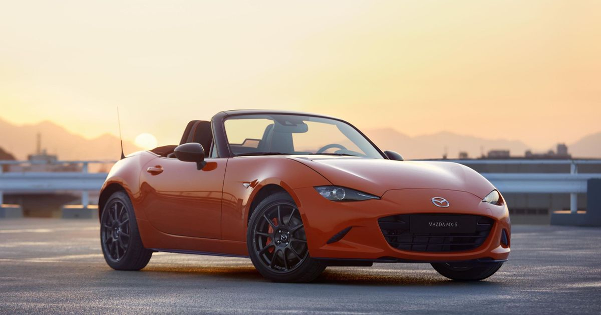The Mazda MX-5 30th Anniversary Is Very Orange, Very Awesome