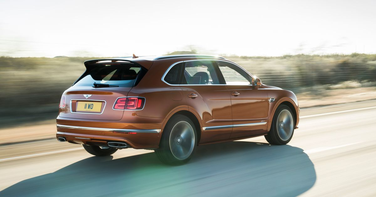 The Bentley Bentayga Speed Is Here And It ll Do 190mph