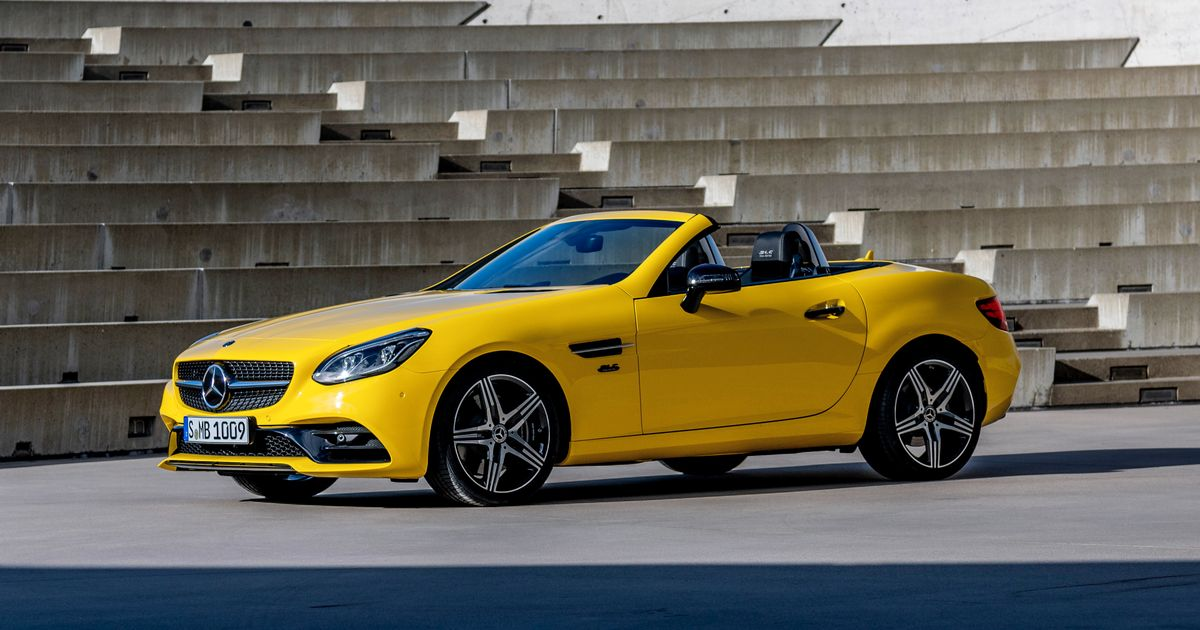 The Mercedes SLC Final Edition Says Goodbye The Roadster Once Known As SLK