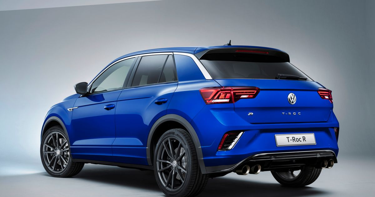 The VW T-Roc R Is A Hot, Golf-Like Crossover With 296bhp