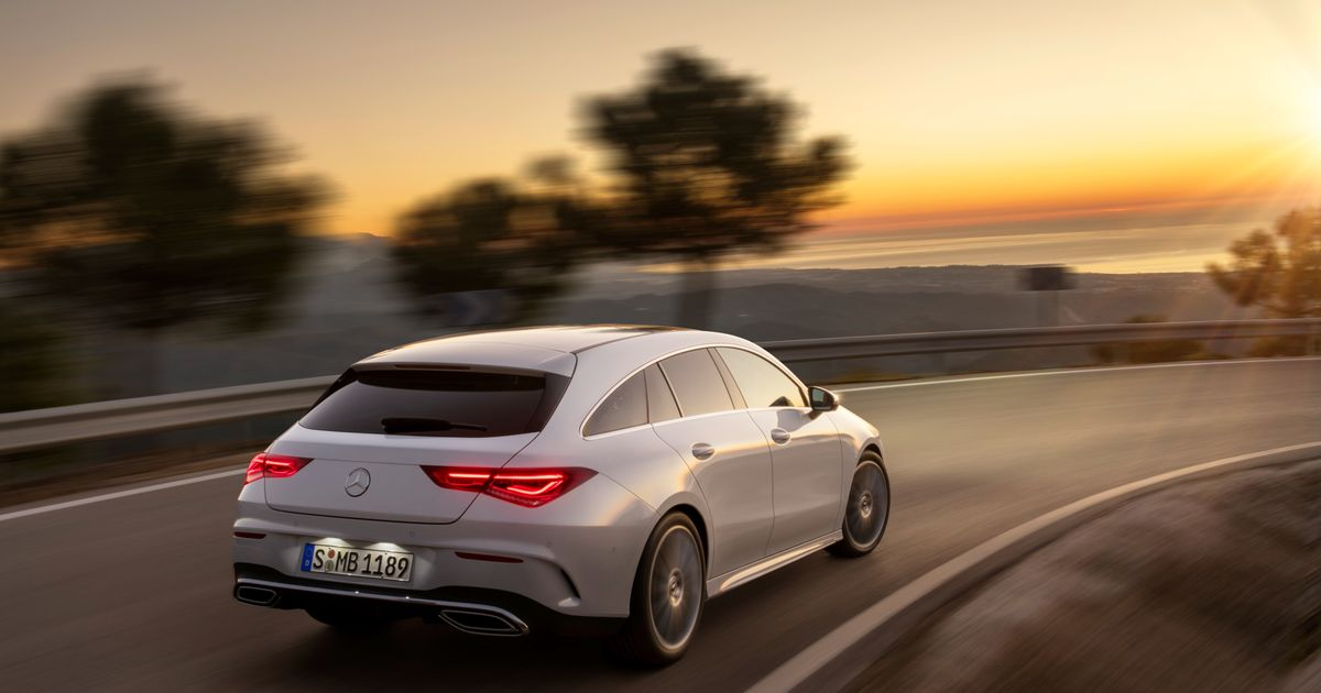 Niche-Of-A-Niche Mercedes CLA Shooting Brake Returns For Second Outing
