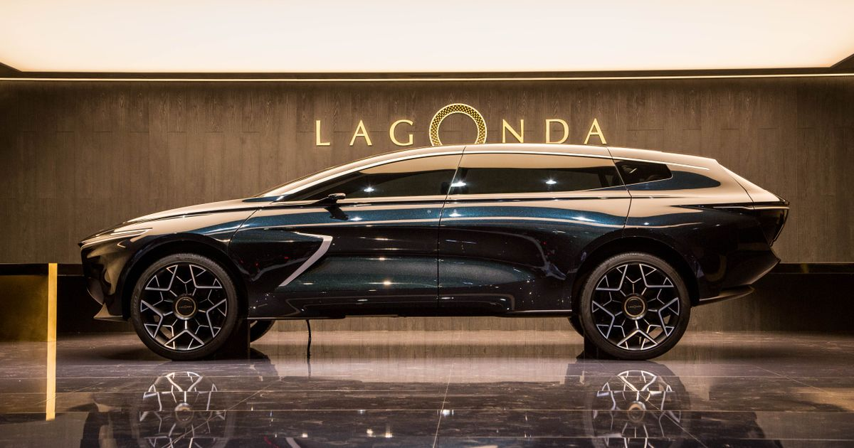 The Electric Lagonda All-Terrain Is Gunning For The Cullinan