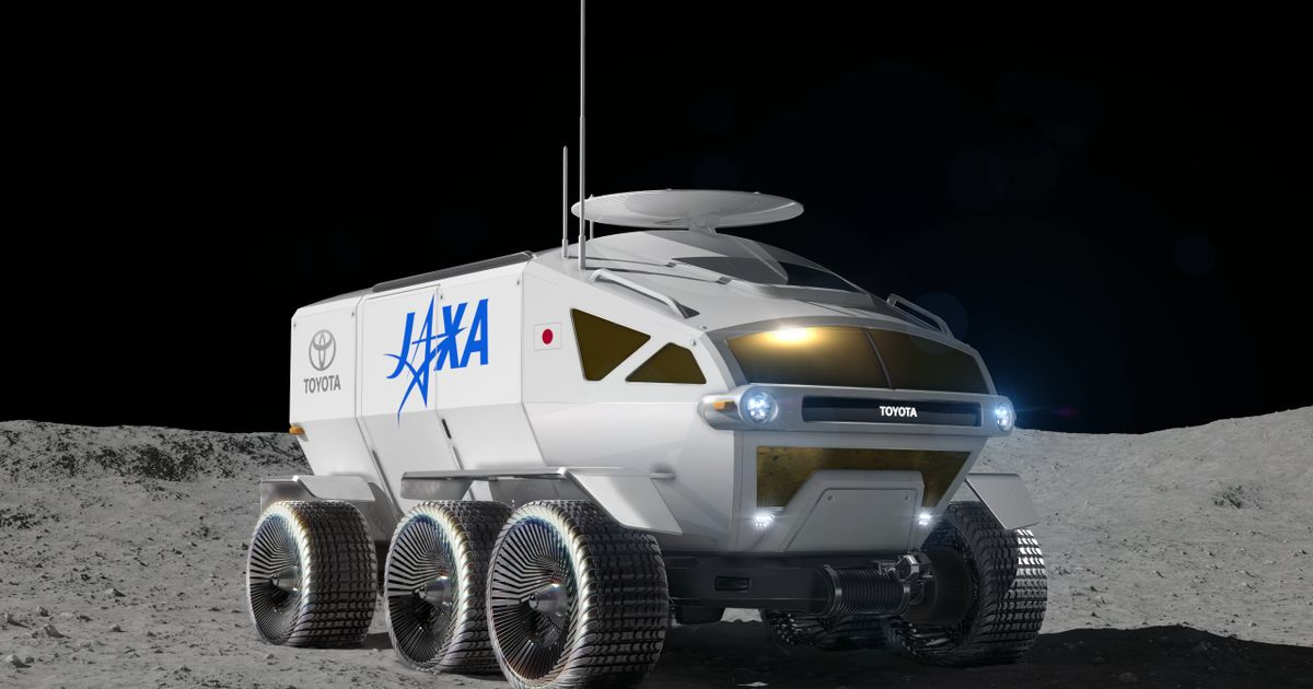 2029 Launch Targeted For Toyota s Pressurised Moon Rover