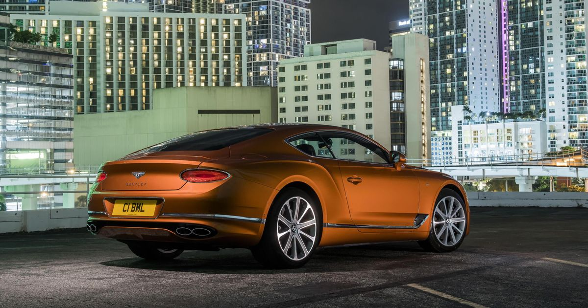 The Bentley Continental GT V8 Is The (Slightly) Less Excessive Way To Waft