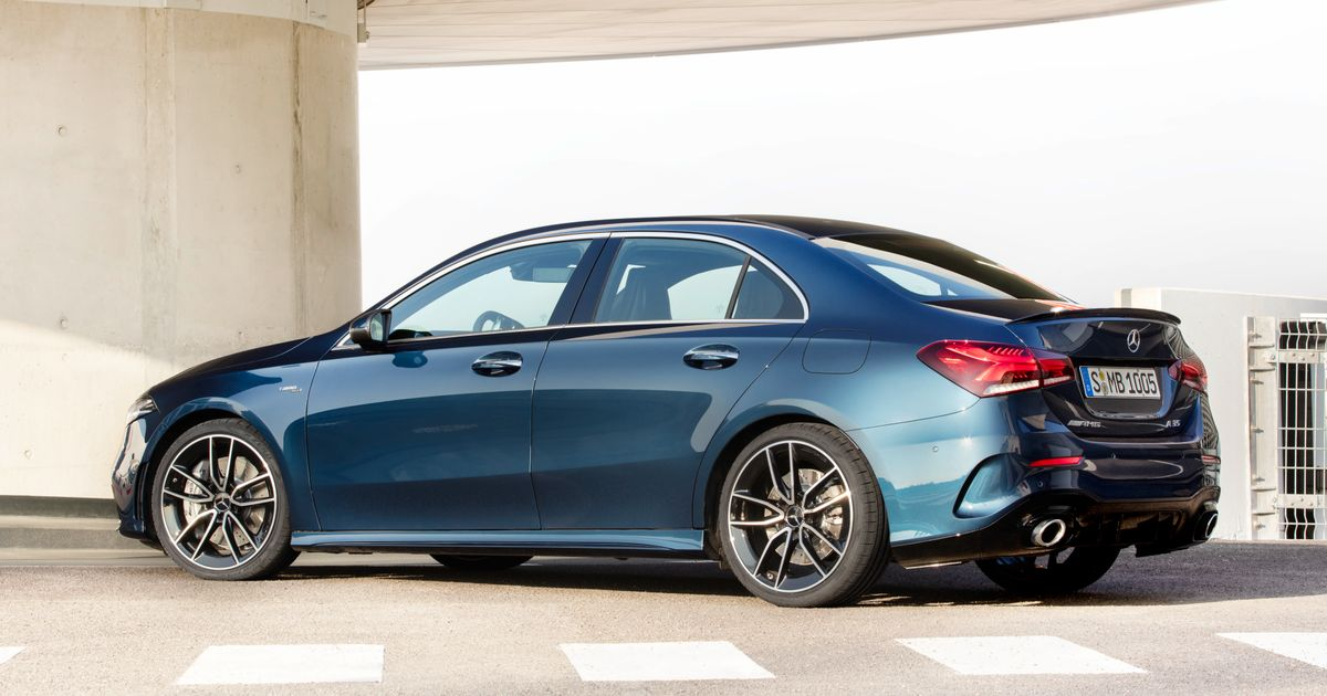 The Mercedes-AMG A35 Saloon Is A New Reason Not To Buy An Audi S3