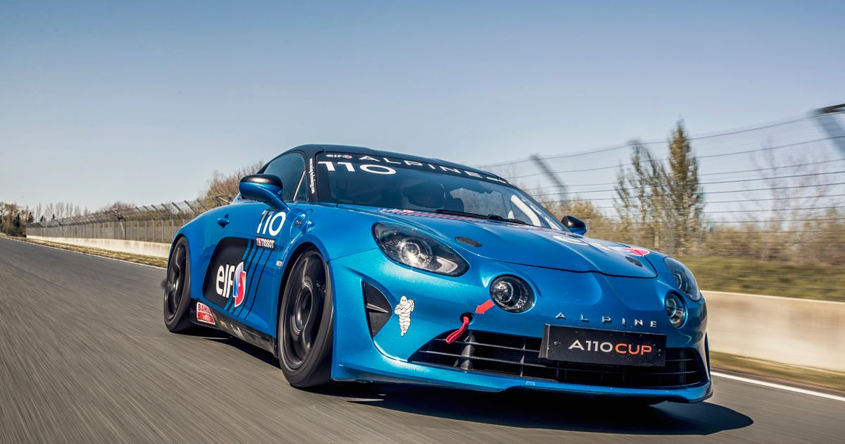 Driving The Alpine A110 Cup Racing Car Required A Total Brain