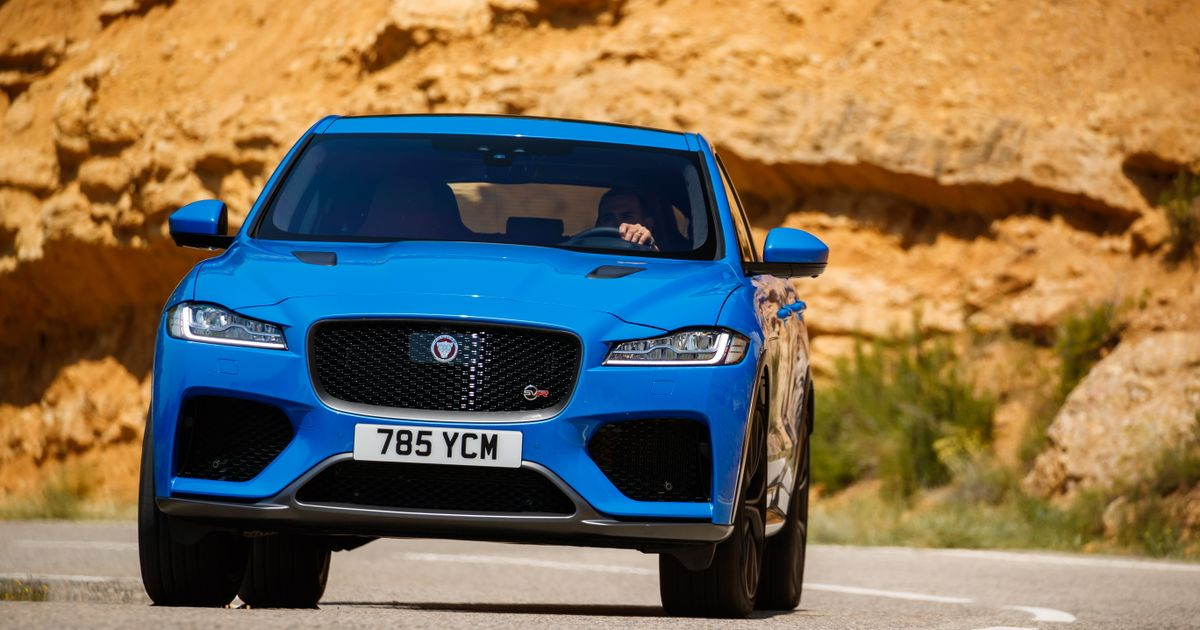 Jaguar F-Pace SVR Review: A Brutal Salute To V8 You ll Come Away Loving