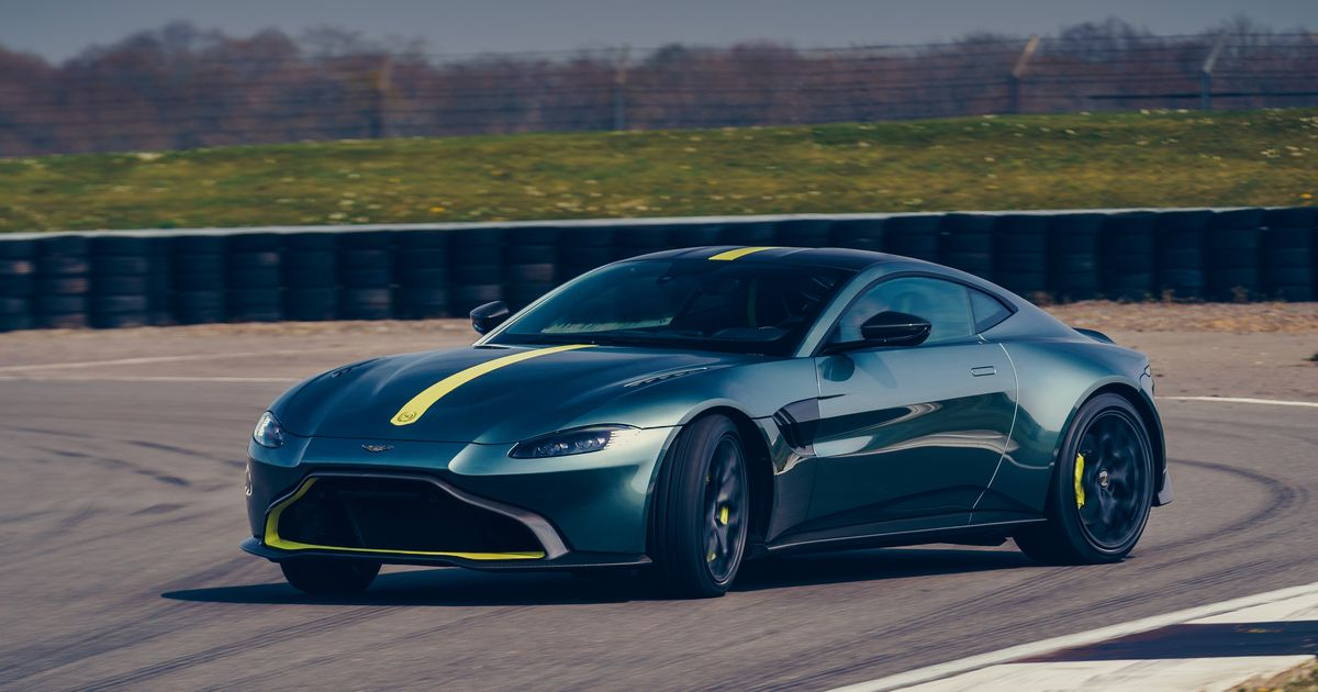 The Manual  Box Aston Martin Vantage AMR Is Nearly 100kg Lighter