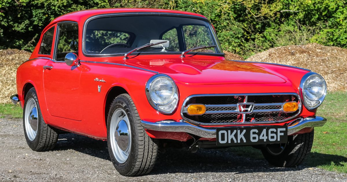 The Honda S800 Is A Surprisingly Affordable Classic That Revs To 8000rpm