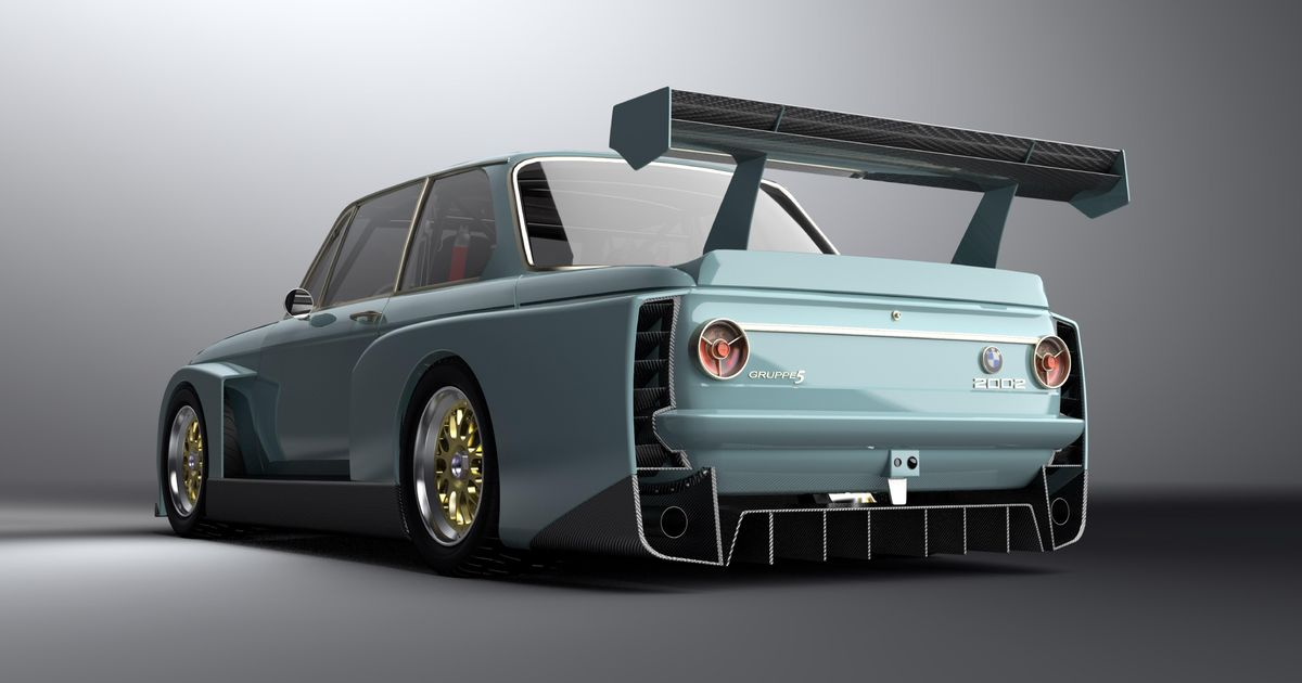 BMW 2002-Based Road-Legal Racer With 800bhp V10 Planned