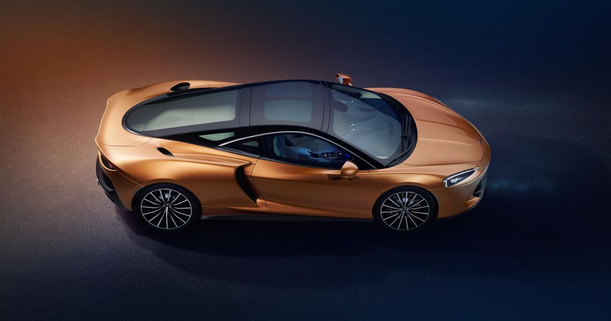 The New McLaren GT Has 612bhp And A Huge Boot