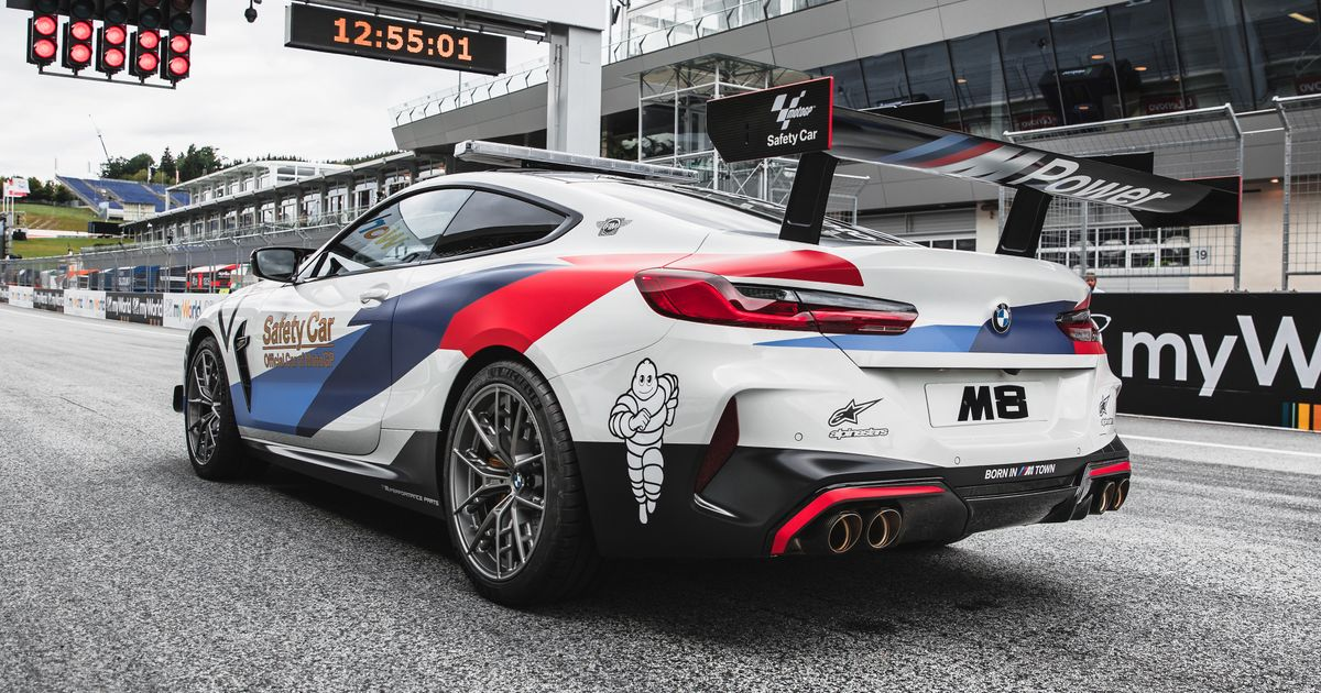 This Be-Winged BMW M8 Is The New MotoGP Safety Car