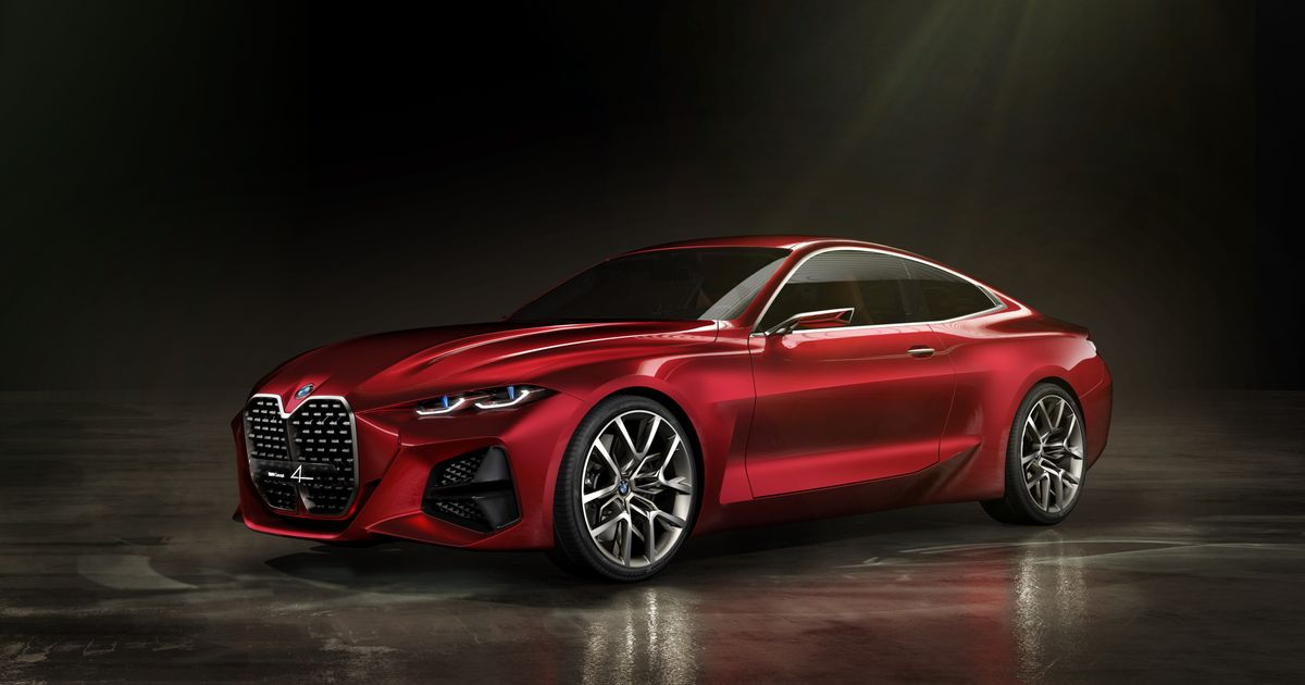 The BMW Concept 4 Looks Amazing, Apart From One Thing