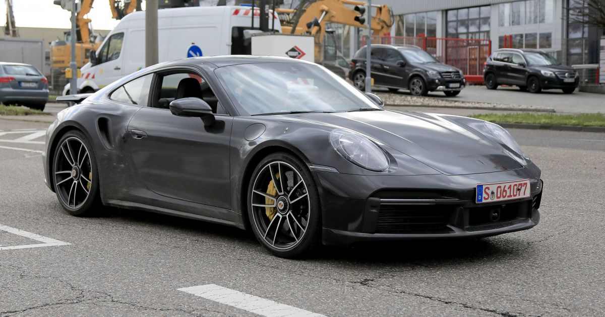 Ogle This Undisguised 992 Porsche 911 Turbo S From All Angles