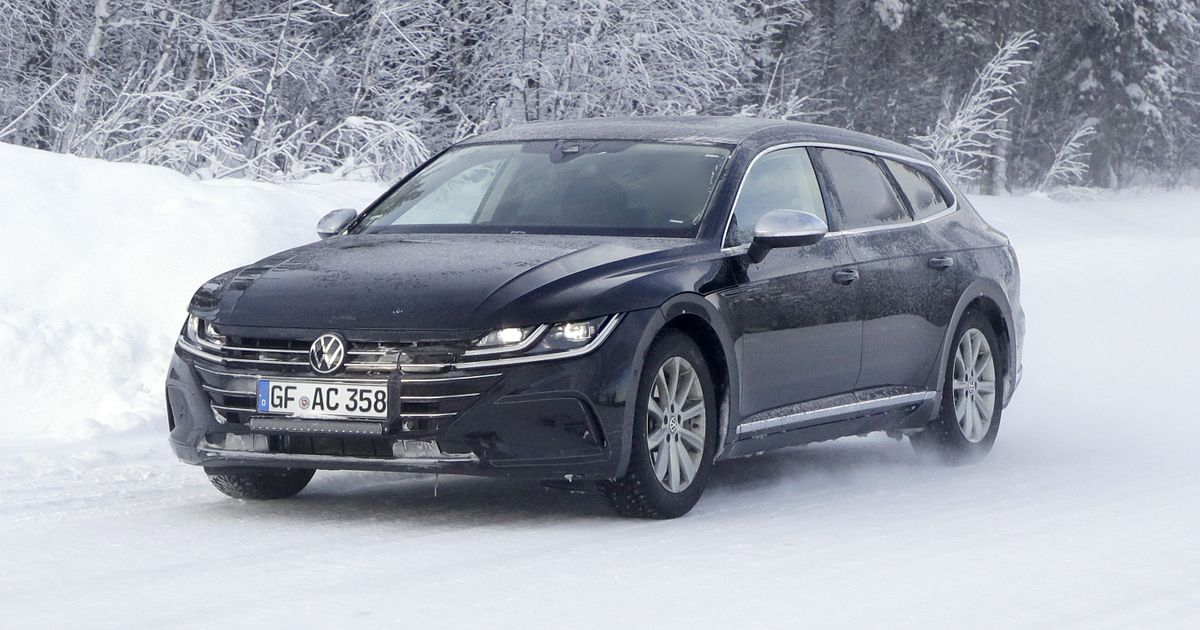 Behold The VW Arteon Shooting Brake Without Any Camo