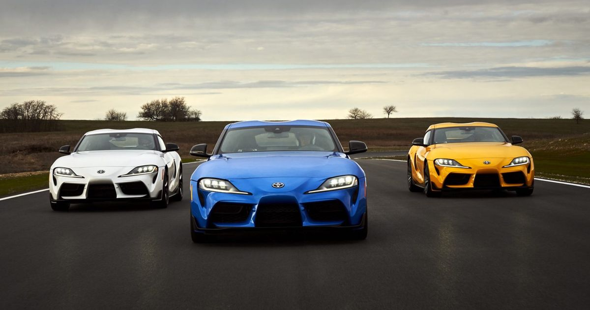 Toyota GR Supra Given New Inline-Four Plus 377bhp Six
