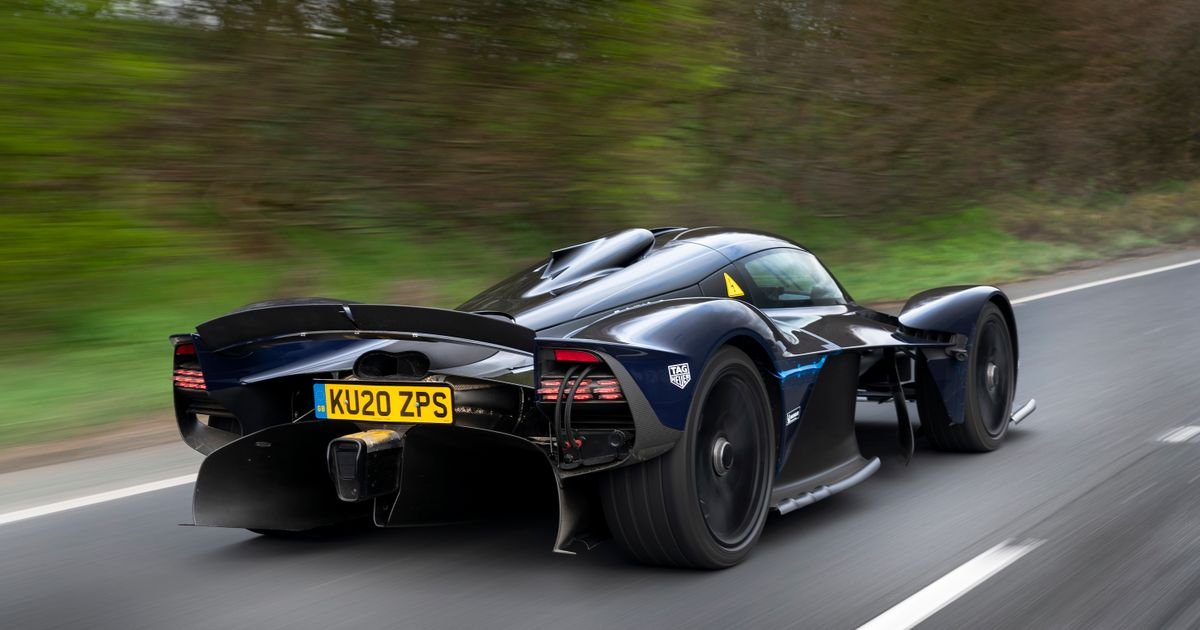 Here S The Aston Martin Valkyrie Looking Resplendent As Road Testing Begins