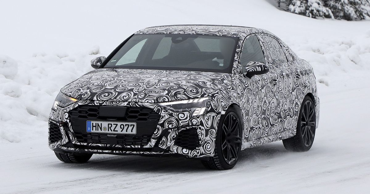 A New Audi Rs3 Saloon Is Coming To Fill The World With Warbly Goodness