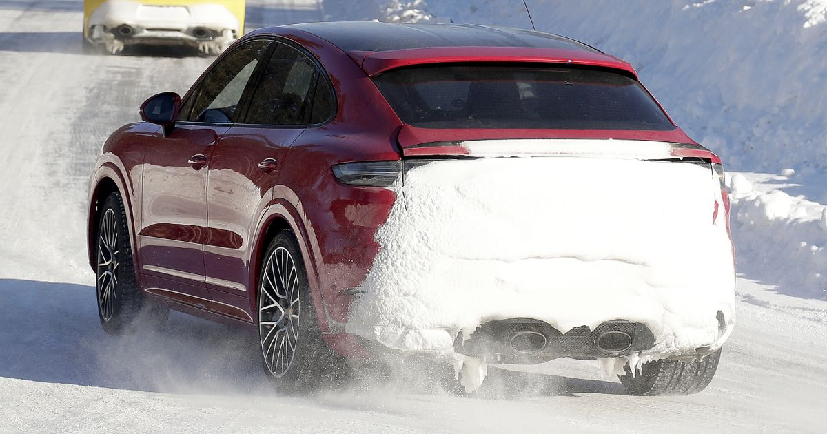 Check Out The Centre-Exit Exhaust On The Next Porsche Cayenne GTS
