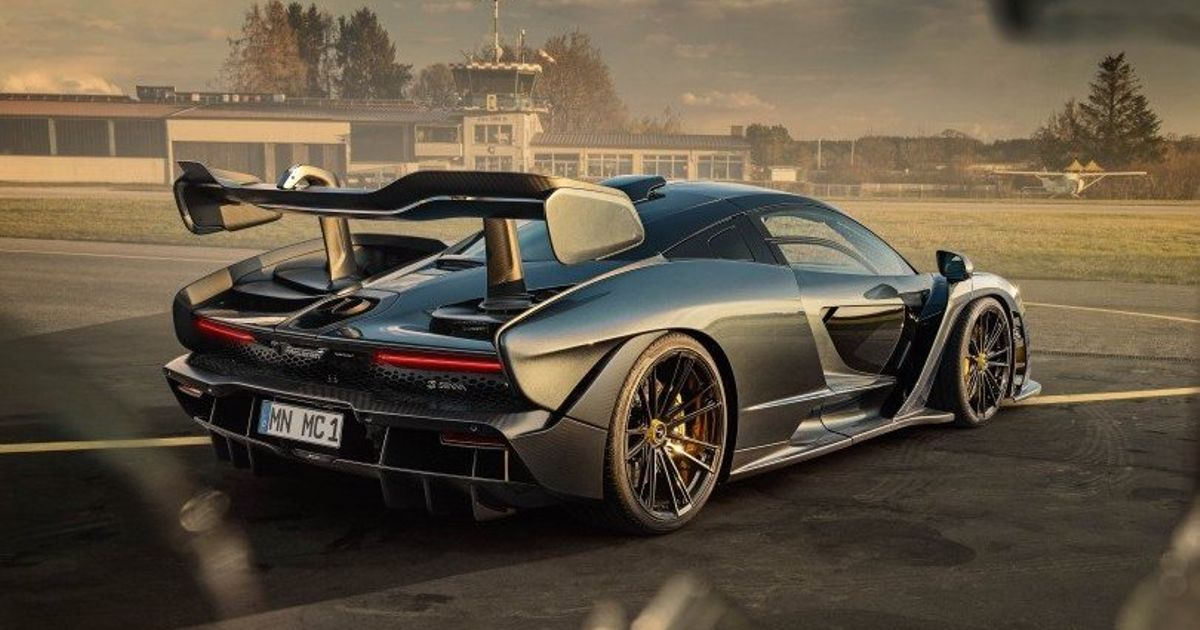 Novitec Has Given The McLaren Senna 900bhp And A New Set Of Lungs