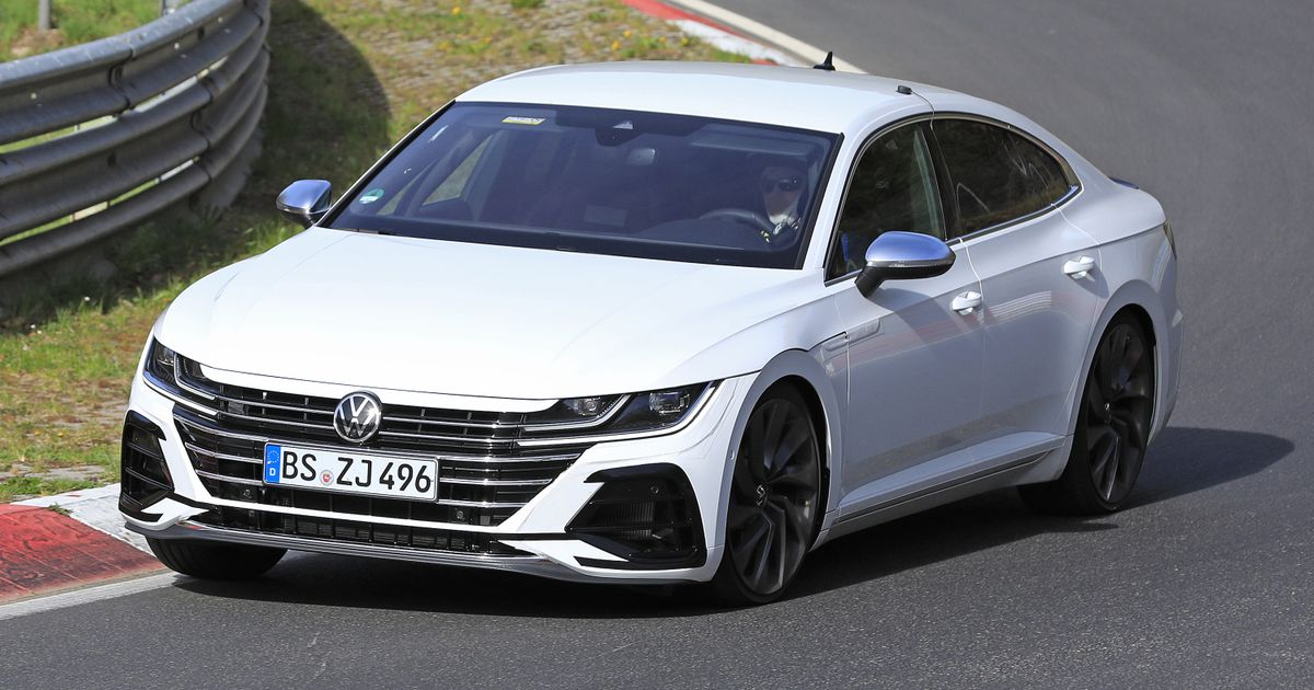 The VW Arteon R Has Been Spotted Hammering Around The Nurburgring