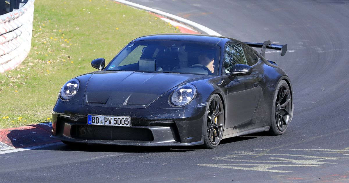 The 992 Porsche 911 GT3 Has Shed A Load Of Camo, And It s Looking Mean