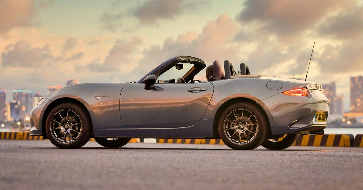 The Mazda MX-5 R-Sport Is A Special Edition Miata With Fancy Rays Wheels