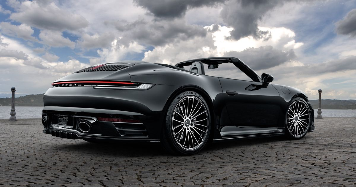 Techart Will Give Your 992 Porsche 911 523bhp And Spangly Wheels