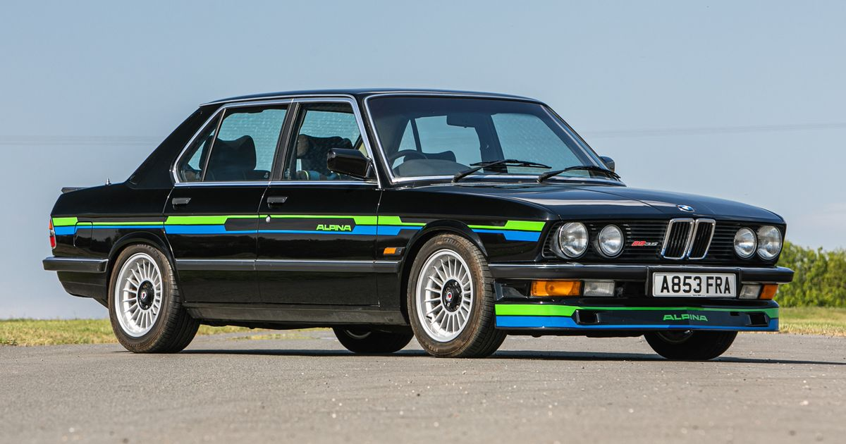 Buy This Alpina B9 3.5 For Less Than The Price Of A Base-Spec 3-Series