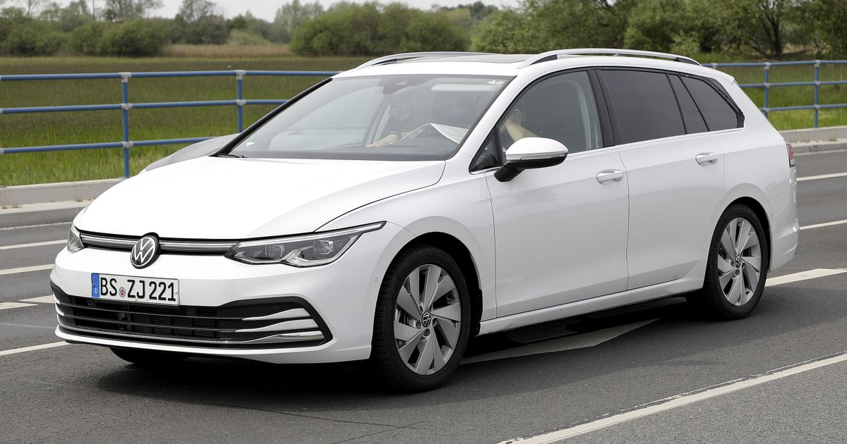 Here s Your First Look At The VW Golf 8 Estate