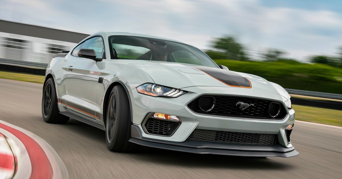 The New Ford Mustang Mach 1 Is Here, And It s Littered With GT350/GT500 Bits