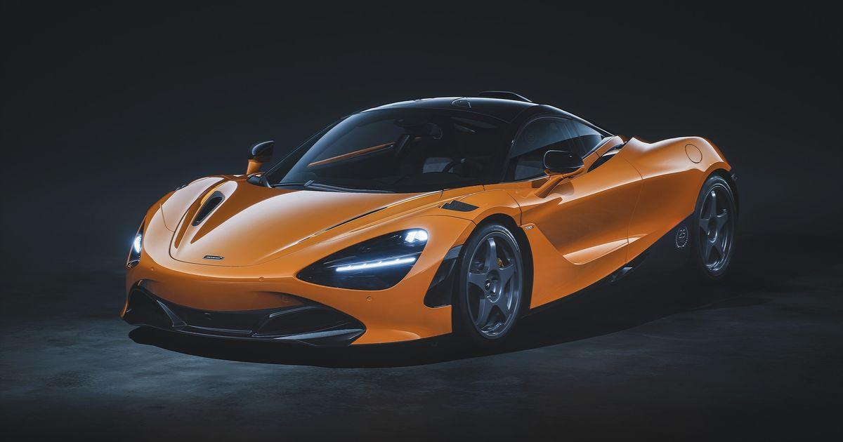 Here s The McLaren 720S Doing Its Best F1 LM Impression