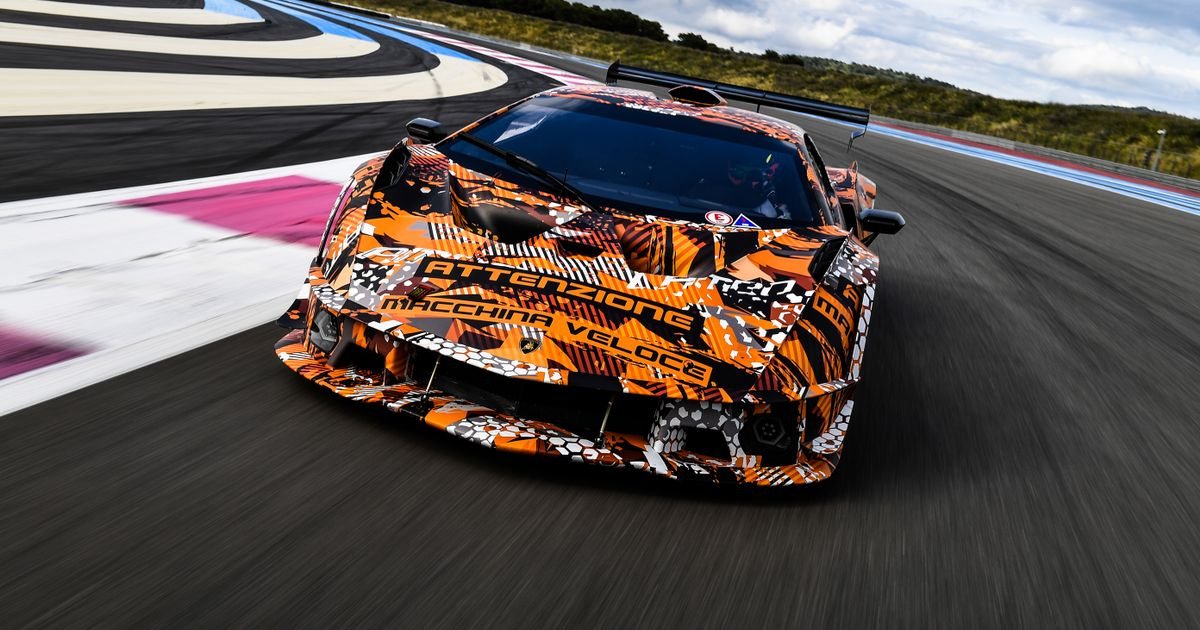 The Track-Only Lamborghini SCV12 Develops More Downforce Than A GT3 Car