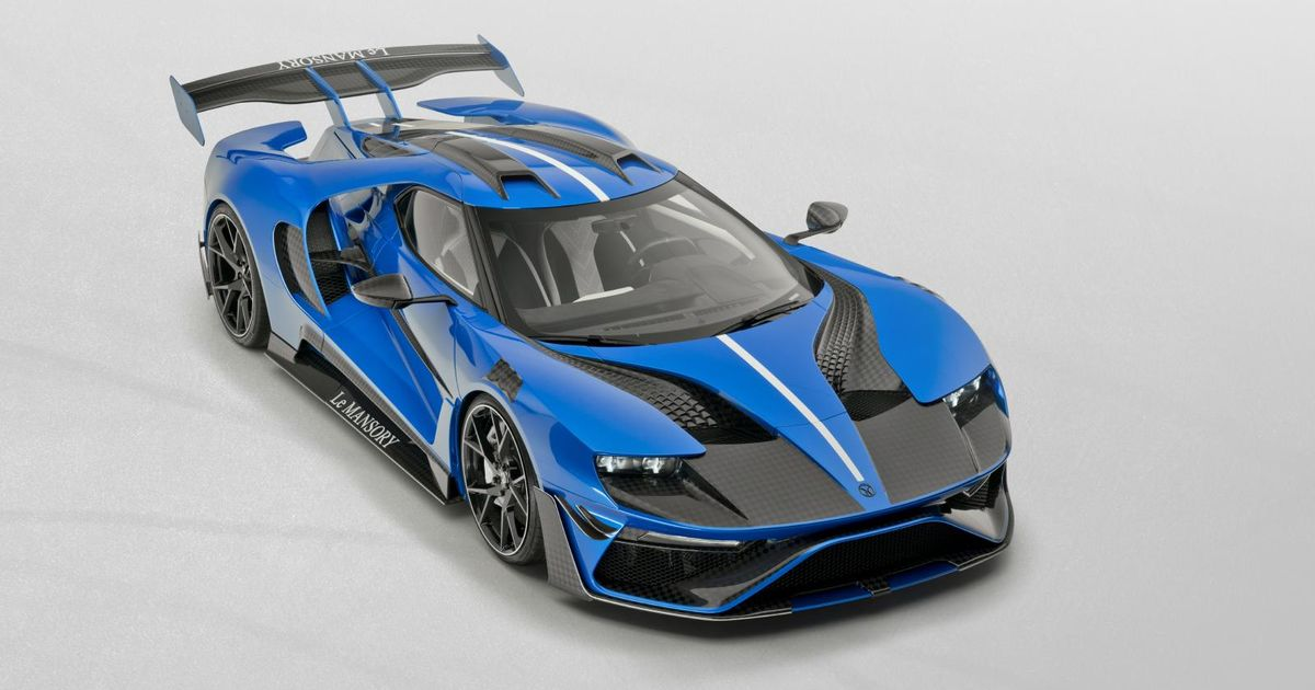 Mansory Has Modified The Ford GT And There s A Lot Going On