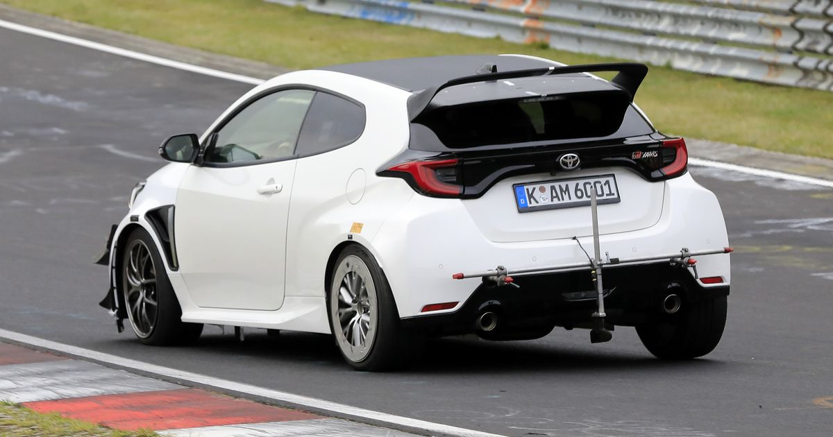 Even Spicier Toyota GR Yaris Spied At The  Ring - Is This A GRMN?