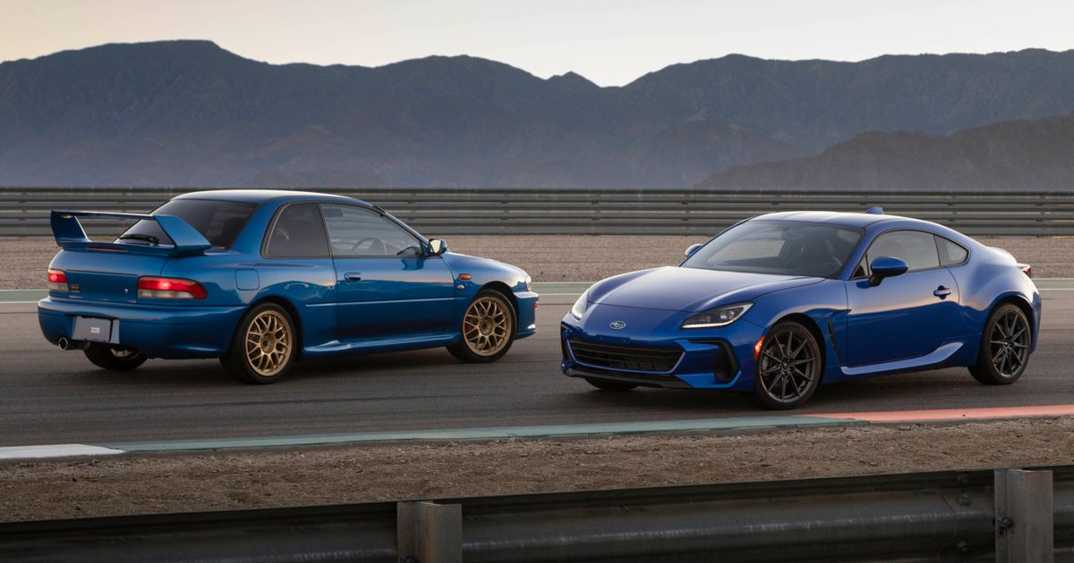 2022 Subaru BRZ Burbles Into View With 225bhp 2.4 Boxer Engine