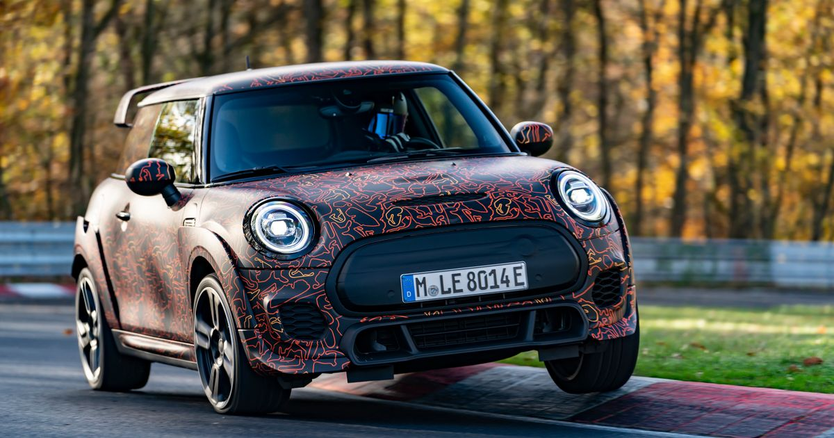 An All-Electric Mini John Cooper Works Is In Development