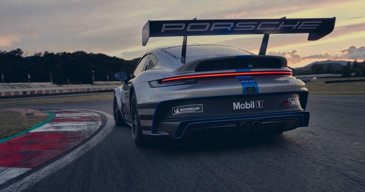 Behold: The Synthetic Fuel-Ready 992 Porsche 911 GT3 Cup And Its Giant Rear Wing