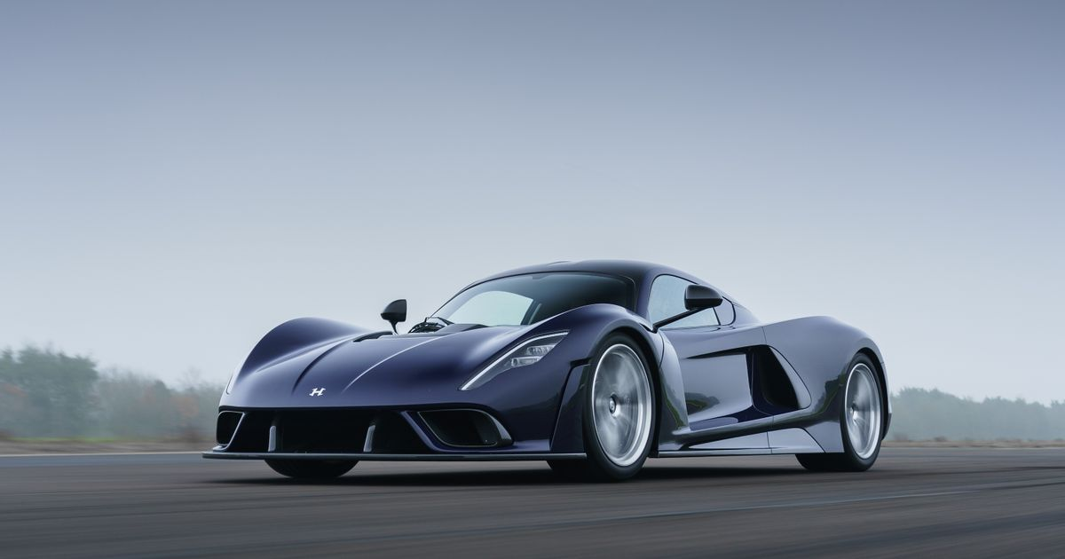 Hennessey Venom F5 Revealed In $2.1 Million, 1800bhp Production Form