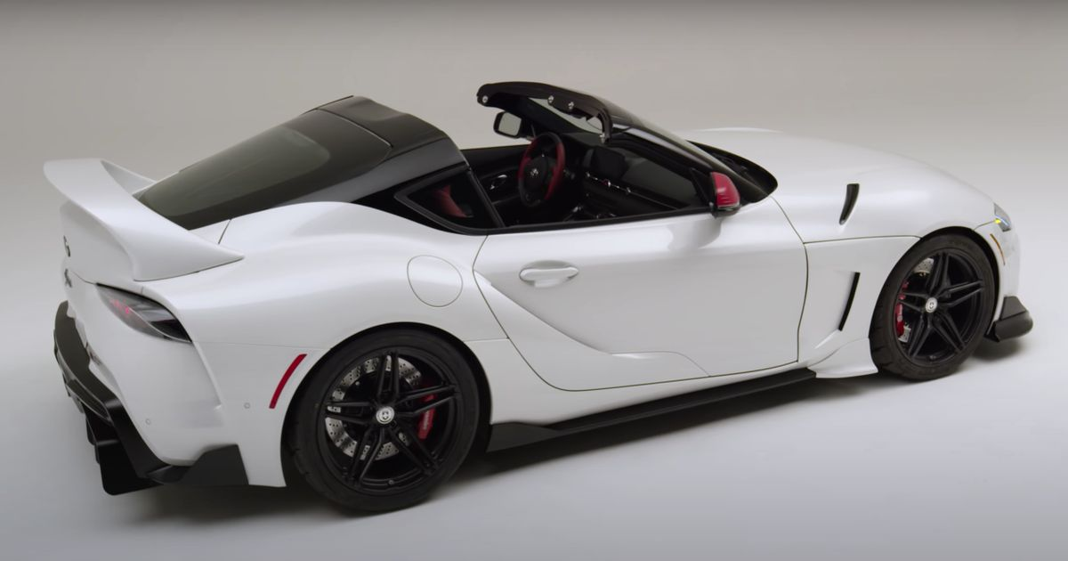 The Toyota GR Supra Sport Top Is Too Good To Stay A Concept