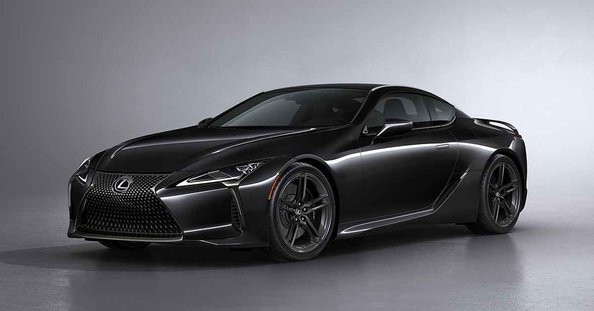 The Lexus LC 500 Inspiration Series Combines Carbon Fibre With An N/A V8