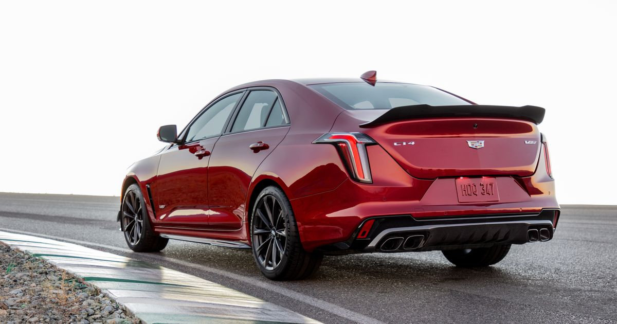 The Cadillac CT4-V And CT5-V Blackwing Super Saloons Are Here With V6 And V8 Power
