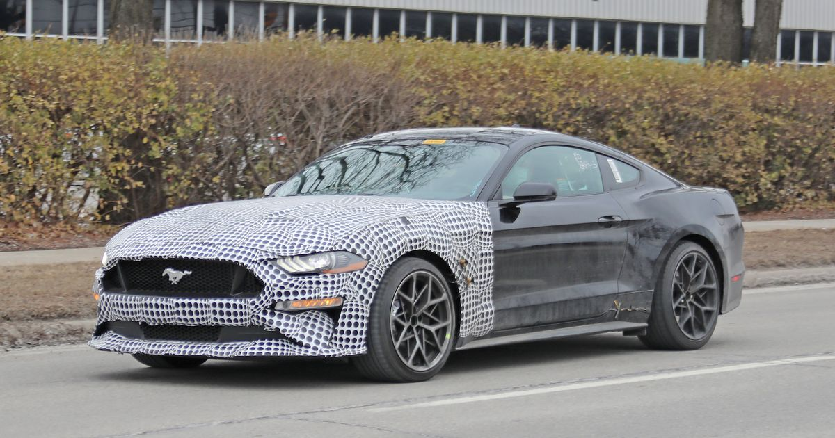 Mystery Ford Mustang Mule Might Be Next-Gen Model