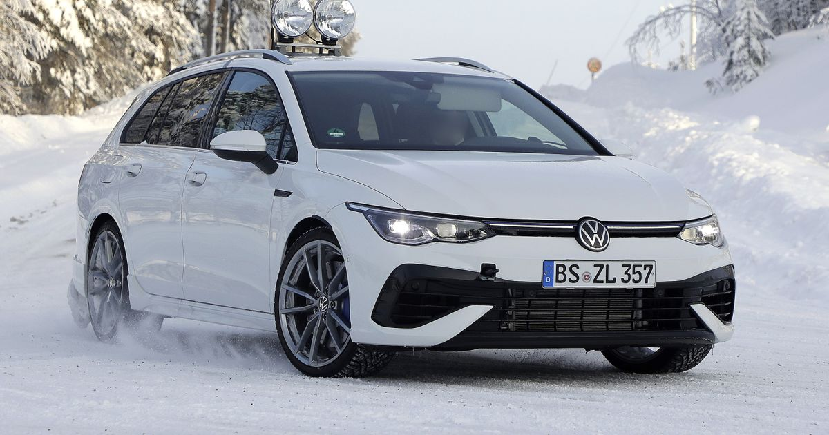 VW Can No Longer Be Bothered To Disguise The New Golf R Estate