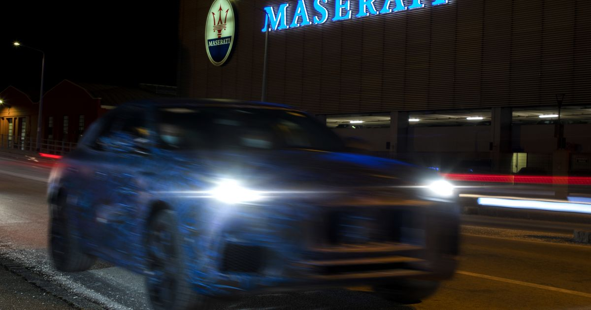 Maserati Grecale Appears In Company s Own Deliberately Shonky  Spy Shots