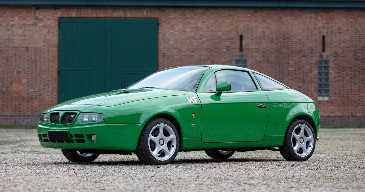 Here s Your Chance To Own A Stupidly Rare Lancia Hyena Zagato (If You Have £180k)